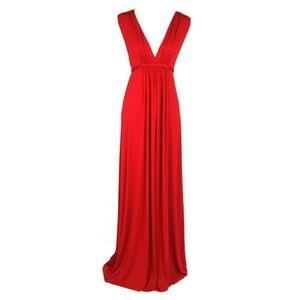 Rachel Pally Long Red Maxi Dress